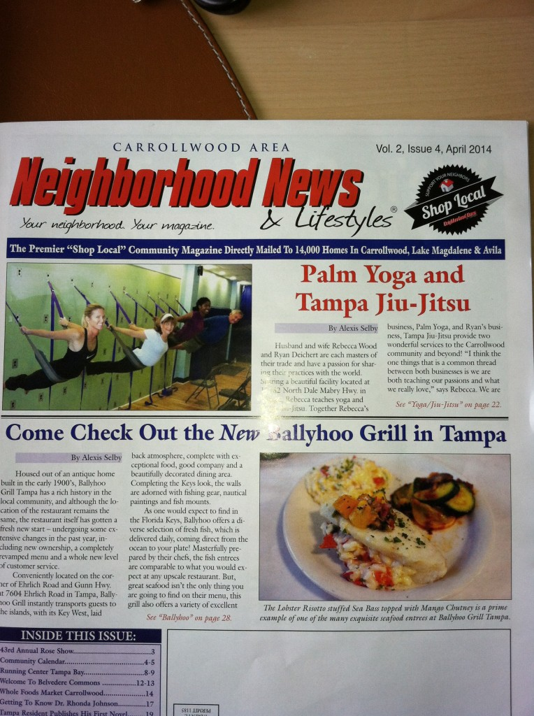Check out our April Cover Story in the Neighborhood News!